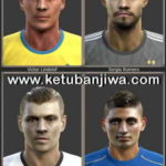 PES 2013 National Team Facepack Volume 3