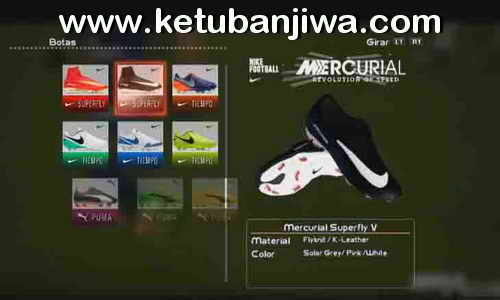PES 2013 New Boots Nike Mercurial Superfly V HD 2017-2018 by DaViDBrAz Ketuban Jiwa