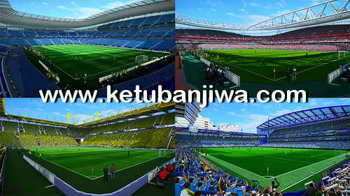 PES 2013 Next Season Patch 2017-2018 Compatible PESEdit 6.0 Ketuban Jiwa Preview 1