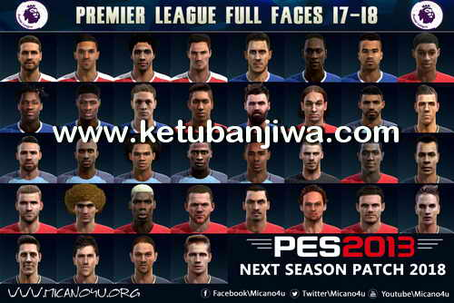 PES 2013 Next Season Patch 2017-2018 Compatible PESEdit 6.0 Ketuban Jiwa Preview 2