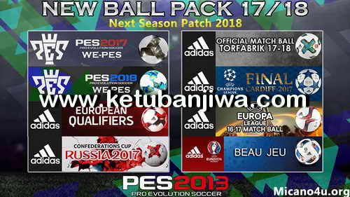 PES 2013 Next Season Patch 2017-2018 Compatible PESEdit 6.0 Ketuban Jiwa Preview 3
