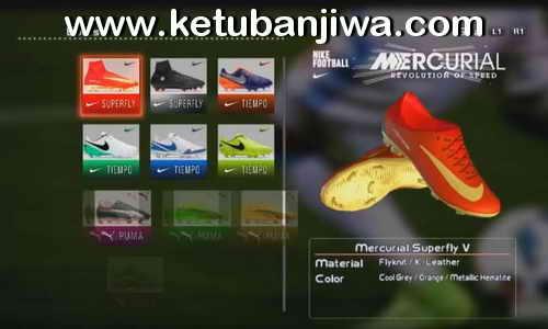 PES 2013 Nike Mercurial Superfly Cristiano Ronaldo HD Boots 2017-2018 by DaViDBrAz Ketuban Jiwa