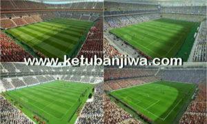 PES 2013 Turkey Super League Stadium Pack GDB Season 2017-2018 by Warriorblack Ketuban Jiwa