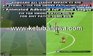 PES 2017 Adboard All League Repack v2 AIO by Syamil