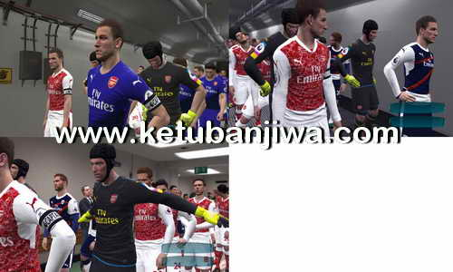 PES 2017 Arsenal Fantasy Kits by OKOROr17 Ketuban Jiwa