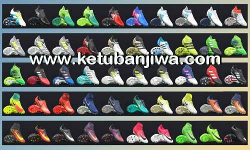 PES 2017 Bootpack 100 Boots v2 by Tisera09 Ketuban Jiwa