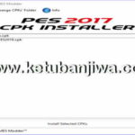 PES 2017 CPK Installer 1.0 Tool by MES Modder
