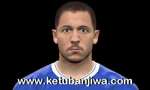 PES 2017 Eden Hazard Face Update by The White Demon Ketuban JIwa
