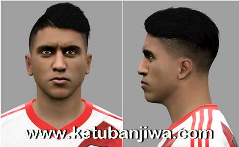 PES 2017 Exequiel Palacios Face - Club Atletico River Plate by LF Facemaker Ketuban Jiwa
