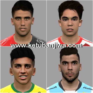 PES 2017 Facepack 4 Faces by LF Facemaker