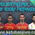 PES 2017 Facepack v1 by Boora Facemaker