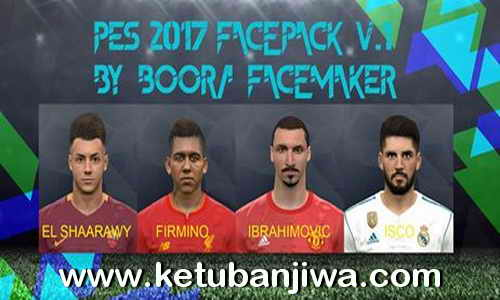 PES 2017 Facepack v1 by Boora Facemaker Ketuban Jiwa