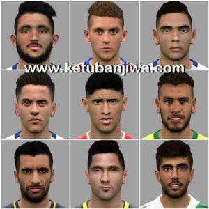 PES 2017 Facepack 9 Faces by LF Facemaker