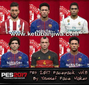 PES 2017 Facepack Vol. 8 by Youssef Facemaker