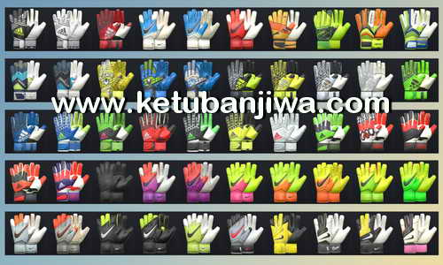 PES 2017 Glovepack 100 Gloves by Tisera09 Ketuban Jiwa