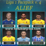 PES 2017 Gojek Traveloka Liga 1 Facepack v4