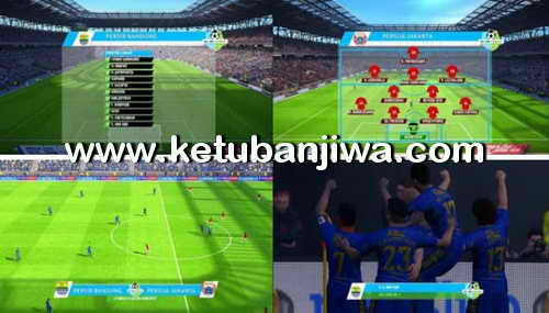 PES 2017 Gojek Traveloka Liga 1 Scoreboard by Arief Rahmansyah Preview Ketuban Jiwa