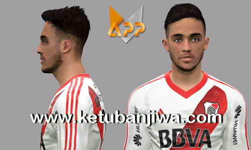 PES 2017 Kevin Sibille Face Update Club Atlético River Plate by LF Facemaker Ketuban Jiwa