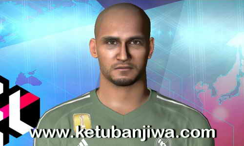 PES 2017 Keylor Navas - Real Madrid Face Update by Robert Facemaker Ketuban Jiwa