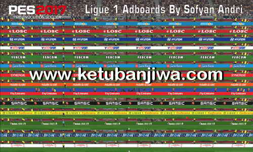 PES 2017 Ligue 1 Adboards Pack by Sofyan Andri Ketuban Jiwa