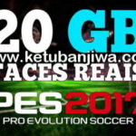 PES 2017 Mega Facepack 20GB For SMoKE Patch