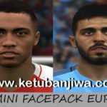 PES 2017 Mini Facepack Europe by Steet