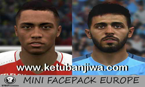 PES 2017 Mini Faces Pack Europe by Steet Facemaker Ketuban Jiwa