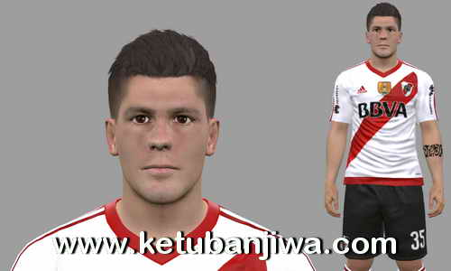PES 2017 Tomas Andrade Face Update Club Atlético River Plate by Daniel Valencia Facemaker