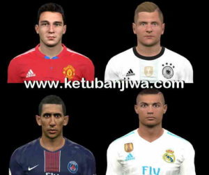PES 2017 Under Pressure Facepack by The White Demon