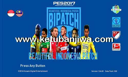 Download PES 2017 Beautiful Indonesia Patch 2017 Patch 1.0 AIO Ketuban Jiwa