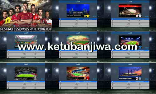 Download PES 2017 New Preview Stadium For Professionals Patch by Tamer Gaad Ketuban Jiwa