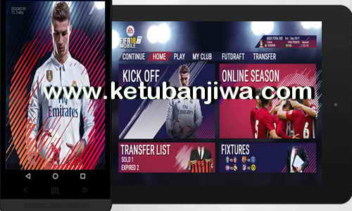 FIFA 18 Android Mobile Mod DLS 17 v4.10