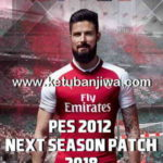 PES 2012 Next Season Patch 2017-2018