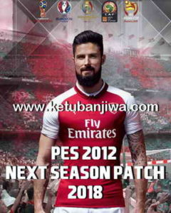 PES 2012 Next Season Patch 2017-2018 Single Link by Micano4u Ketuban Jiwa
