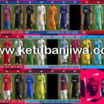 PES 2013 English Premier Leagur EPL Mini Kitserver Pack Season 2017-2018 by BMG Kitmaker Ketuban Jiwa