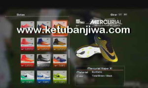 PES 2013 HD Boots Update 21/07/2017 Season 2017-2018