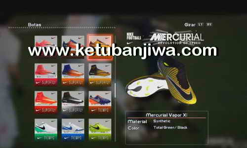 PES 2013 HD Boots Update 21-07-2017 Season 17-18 by DaViDBrAz Ketuban Jiwa