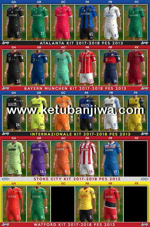Download PES 2013 Kit Update 14 July 2017