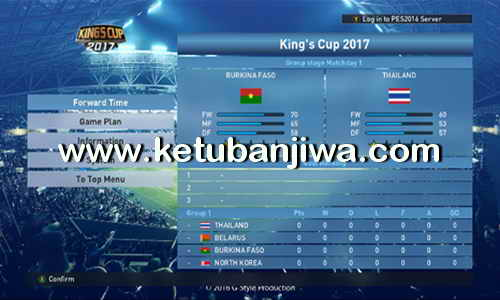 PES 2016 Dunksuriya Patch 8.0 Update Ketuban Jiwa