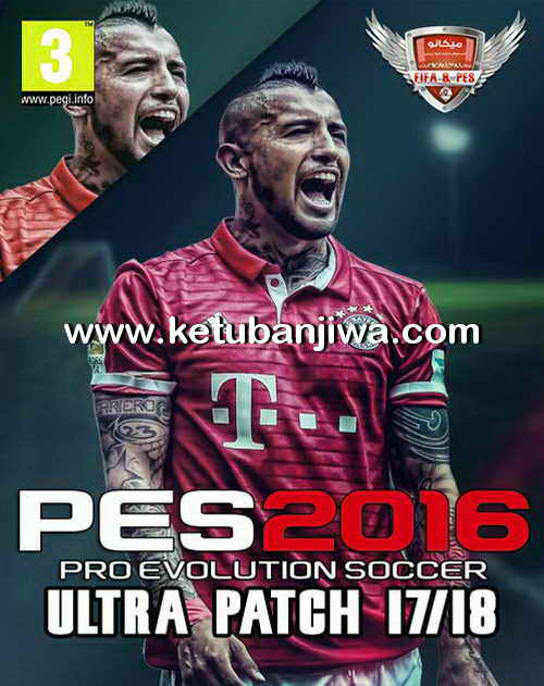 PES 2016 Ultra Patch Season 17/18 Compatible PTE 6 0 Single Link by