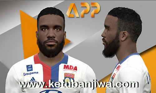 PES 2017 Alexandre Lacazette Face Update - Olympique Lyonnais by Litos Facemaker Ketuban jiwa