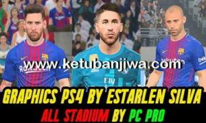 PES 2017 Estarlen Silva PS4 Graphic For All Stadium