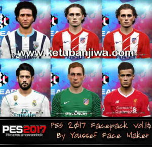 PES 2017 Facepack Vol.10 by Youssef Facemaker