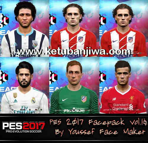 PES 2017 Facepack Vol.10 by Youssef Face Maker Ketuban Jiwa