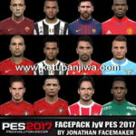 PES 2017 Facepack JyV by Jonathan Facemaker