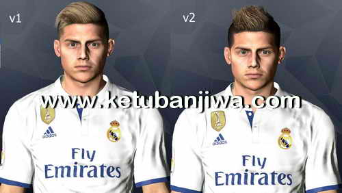 PES 2017 Faces Pack v13 by LR7 Ketuban Jiwa Preview
