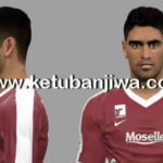PES 2017 Geronimo Poblete Face by LF Facemaker