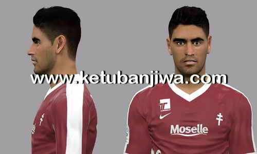 PES 2017 Geronimo Poblete - FC Metz Face Update by LF Facemaker Ketuban Jiwa