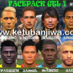 PES 2017 Gojek Traveloka Liga 1 Facepack For iPatch