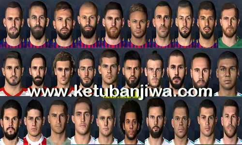PES 2017 Mega Facepack Update 29 July 2017 by Messi Pradeep Ketuban Jiwa